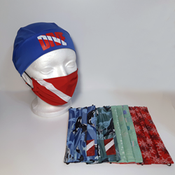 Dive Flag Face Mask