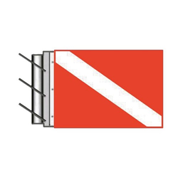 Rising Antenna Dive Flag