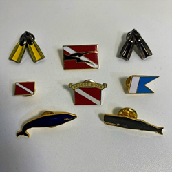 Diving Lapel Pins