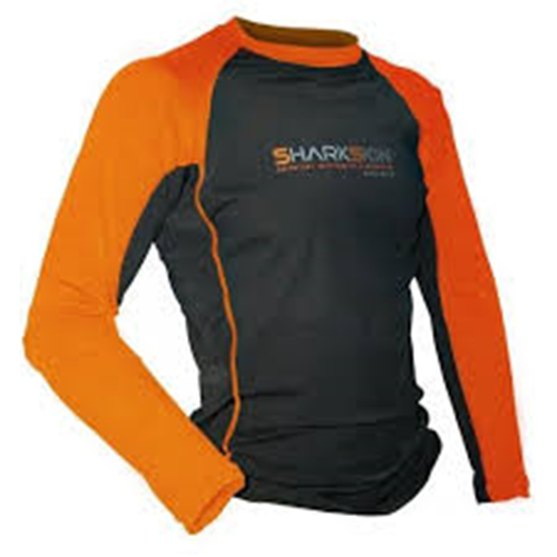 Sharkskin Rapid Dry - XL  Orange/BL