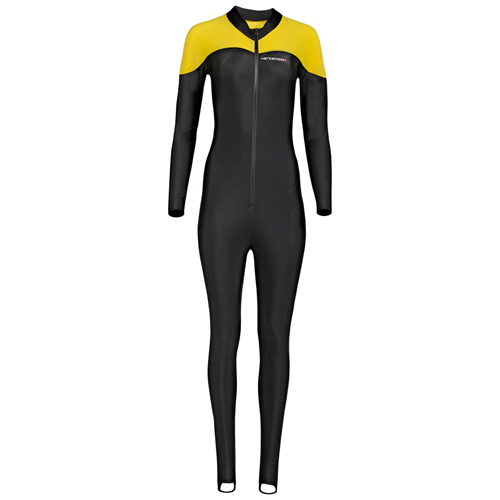 LYCRA JUMPSUIT - SHLD YELLOW