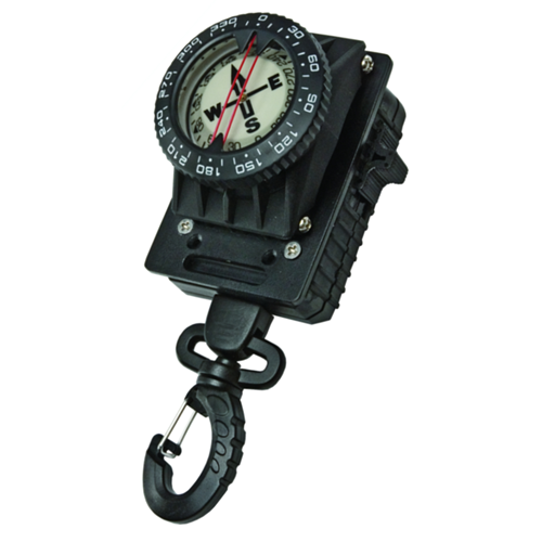 Compass Mounted On Locking Gripper