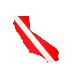 Dive Sticker - California