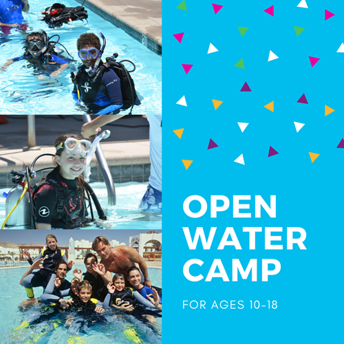 Open Water Summer Camp (DEPOSIT)