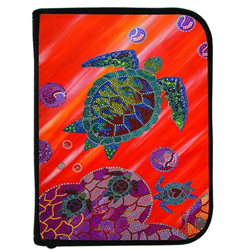 Binder, 3 Ring W/insert Turtle