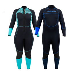 Wetsuit, Akona Mens 1mm