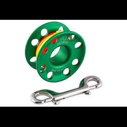 Lifeline,30 Mtr W/snap-bolt,green