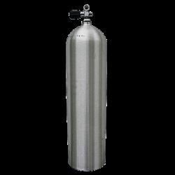 Luxfer 80c/f Brushed No Finish 3000psi Aluminium Cylinder