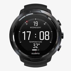 Suunto D5 All Black With Usb Cable