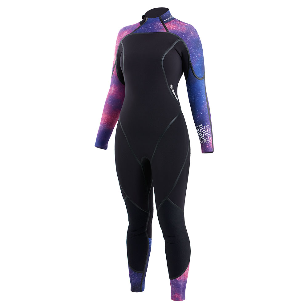 Aquaflex Wmn 5mm Jumpsuit Galaxy/black 4