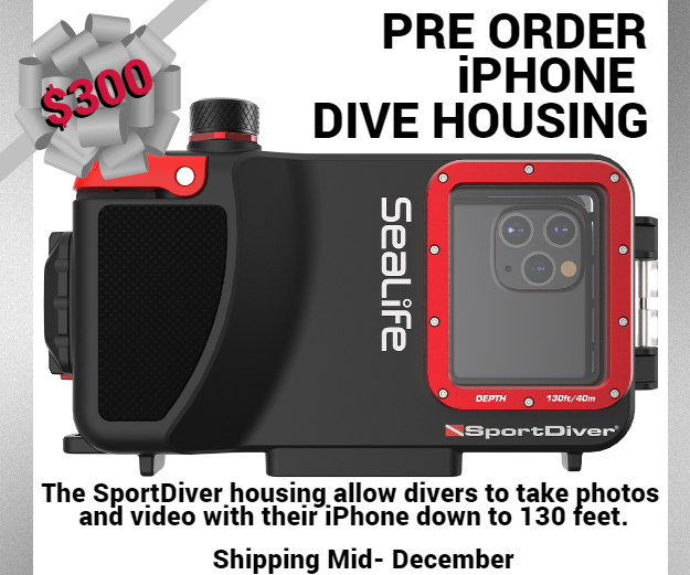 Sealife Sportdiver Iphone Dive Case