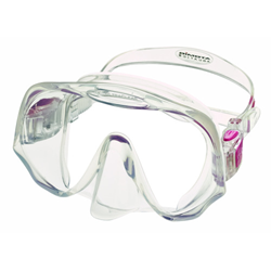 Atomic - Frameless, Clear/pink