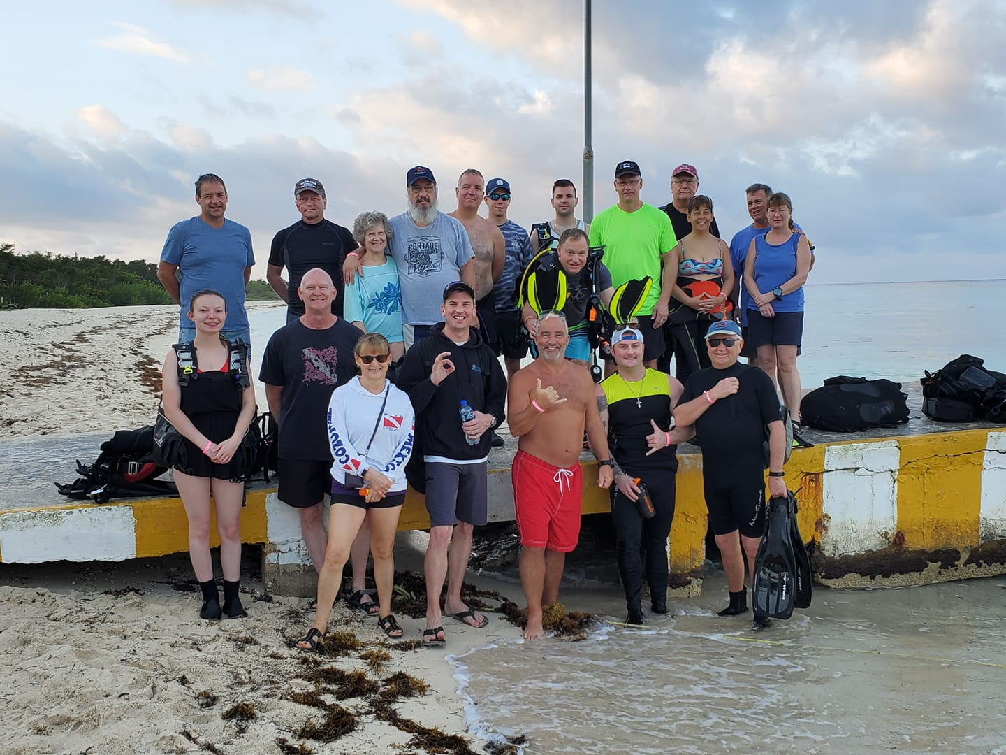 GROUP DIVE TRIPS -