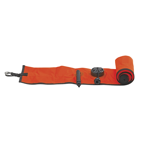 Signal Marker Bouy with Sling Pouch, Orange
