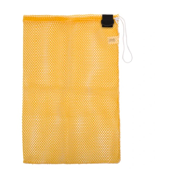 Drawstring Mesh Bag Yellow